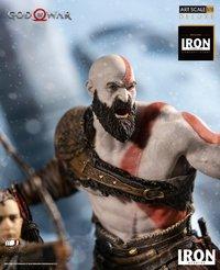 God of War (2018): 1/10 Kratos & Atreus - Battle Diorama Statue image