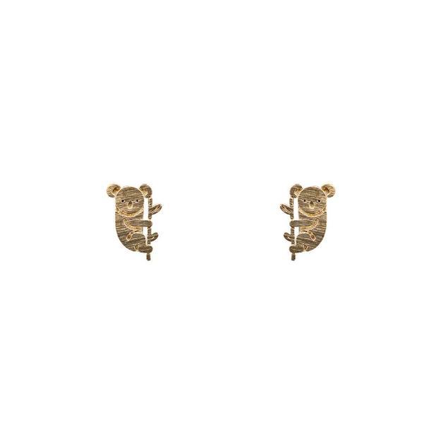 Short Story: Koala Earring - Gold