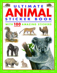 Ultimate Animal Sticker Book by LORENZ image