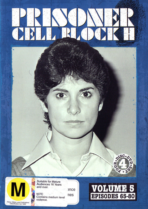 Prisoner - Cell Block H: Vol. 5 - Episodes 65-80 (4 Disc Set) on DVD