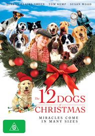The 12 Dogs of Christmas on DVD