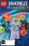 Lego Ninjago: Masters Of Spinjitzu - Season 3 Volume 1 DVD