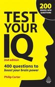 Test Your IQ by Philip J Carter