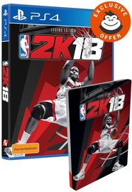 NBA 2K18 Legend Edition for PS4