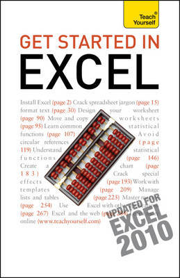 Get Started in Excel Teach Yourself by Moira Stephen