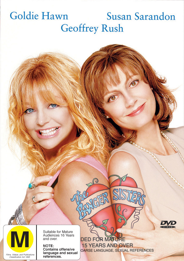 The Banger Sisters on DVD image