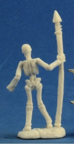 Dark Heaven Bones - Skeleton Warrior Spearmen (3pc) image