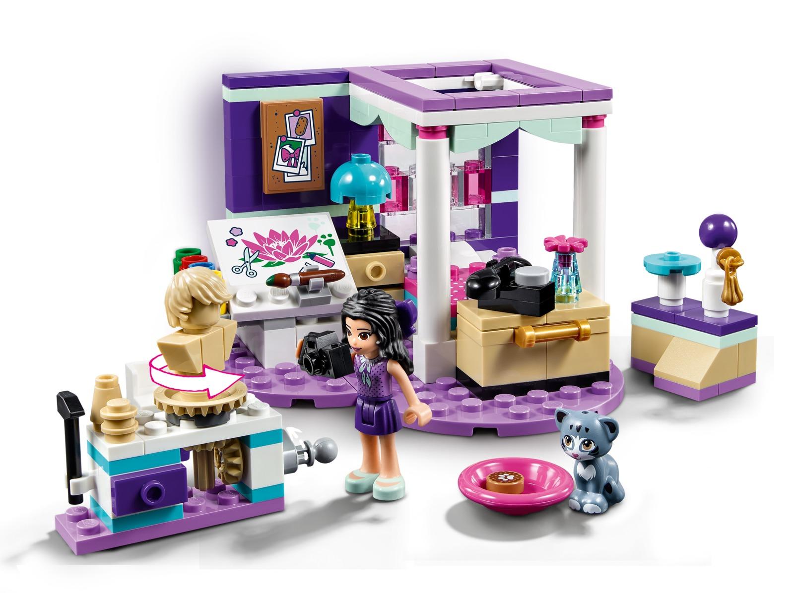 LEGO Friends - Emma's Deluxe Bedroom (41342) image