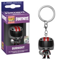 Fortnite - Burnout Pop! Keychain