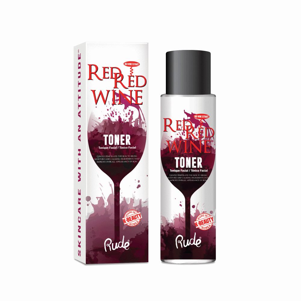 Rude Cosmetics - Red Red Wine Toner (100ml) image