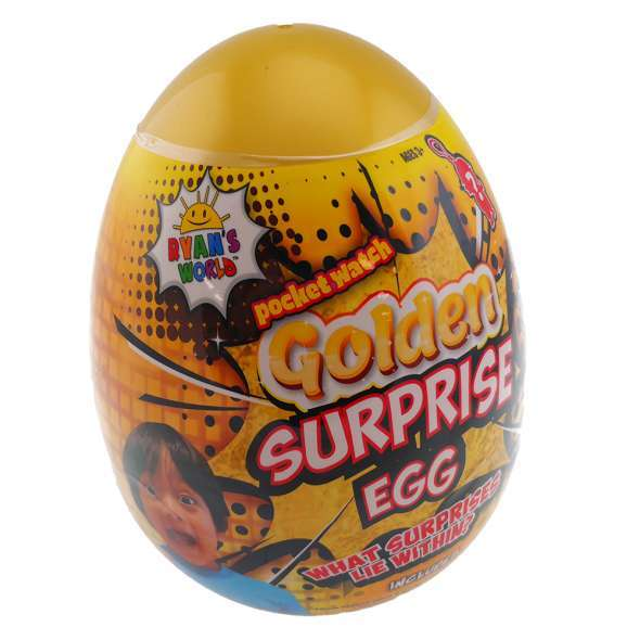 Ryans World: Golden Surprise Egg (Blind Box)