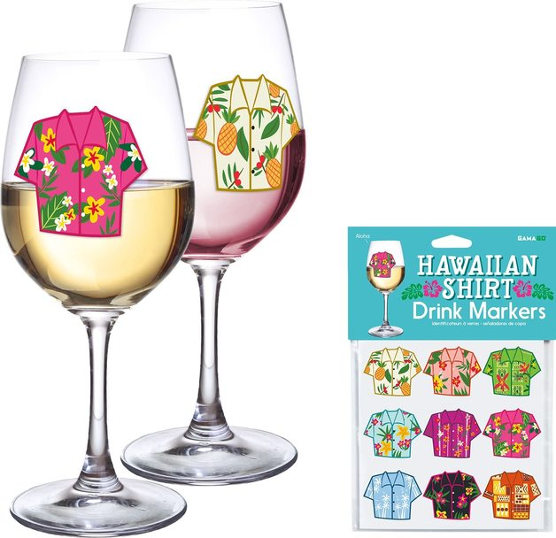 GAMAGO - Hawaiian Shirt Drink Markers