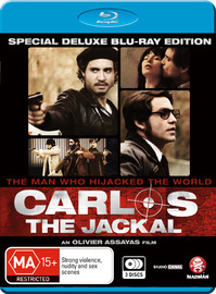 Carlos The Jackal (3 Disc Set) on Blu-ray