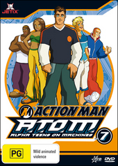 Action Man - A.T.O.M.: Alpha Teens On Machines - Vol. 7 on DVD