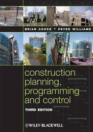 Construction Planning, Programming and Control by Brian Cooke image