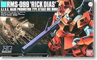 HGUC 1/144 RMS-099 Rick Dias Custom - Model Kit (Red)