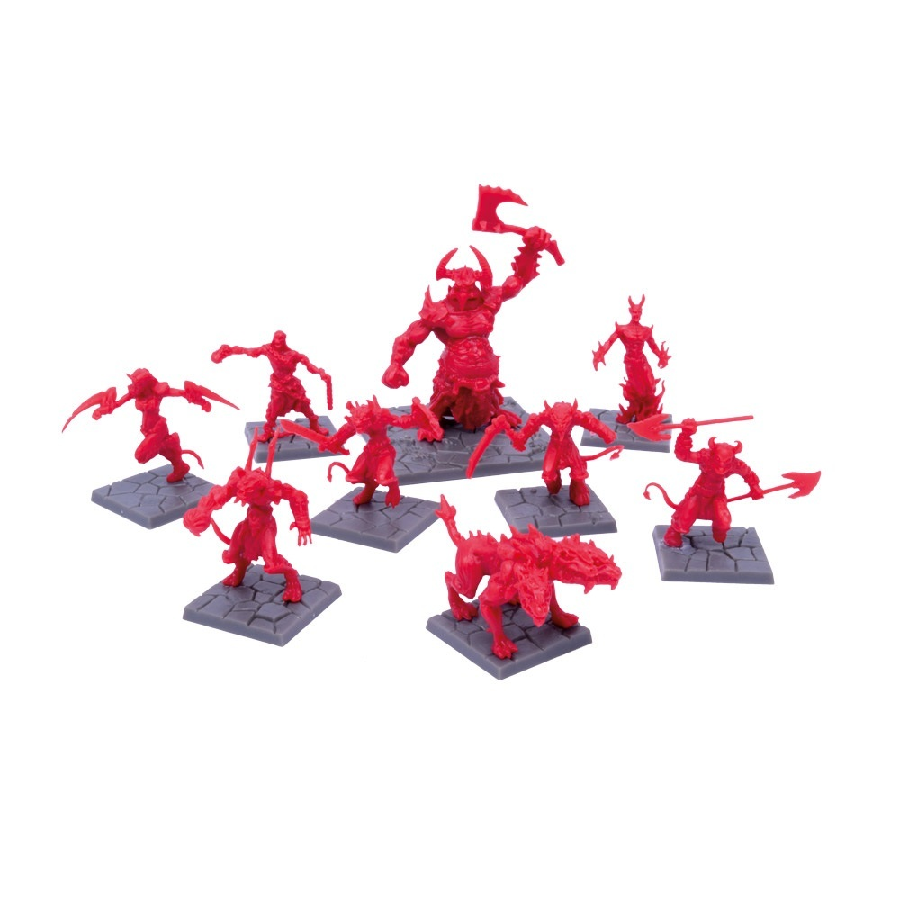 Dungeon Saga: Denizens of the Abyss Miniatures Set image