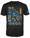 Star Wars - BB-8 Blueprint Pop! T-Shirt (L)