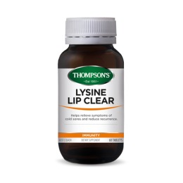 Thompsons Lysine Lip Clear (60 Tablets) image