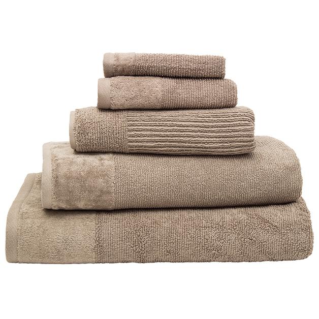 Bambury Costa Cotton Bath Towel (Mocha)
