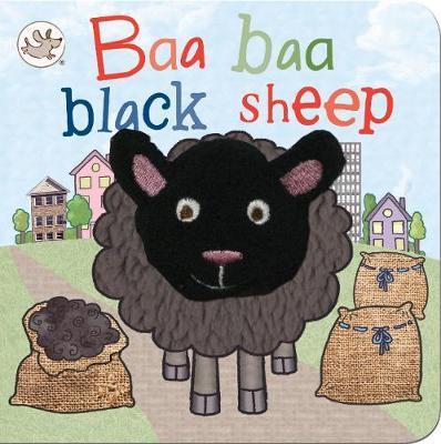 Little Me Baa Baa Black Sheep Finger Puppet Book by Parragon Books Ltd image
