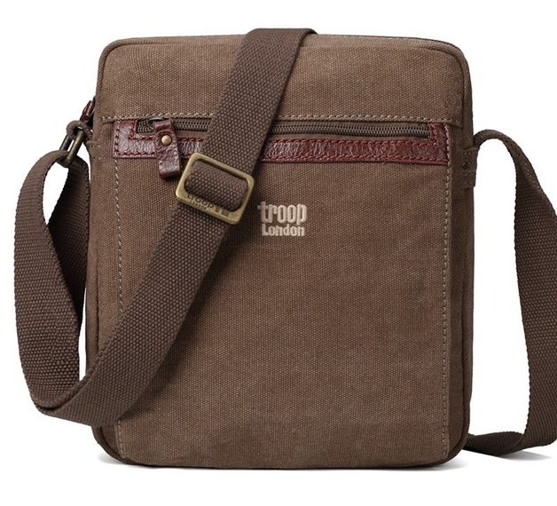 Troop London: Classic Zip-Top Body Bag - Brown