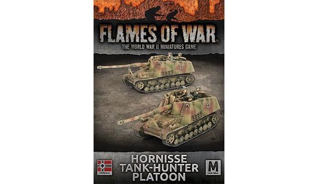 Flames of War: Hornisse Tank-Hunter Platoon
