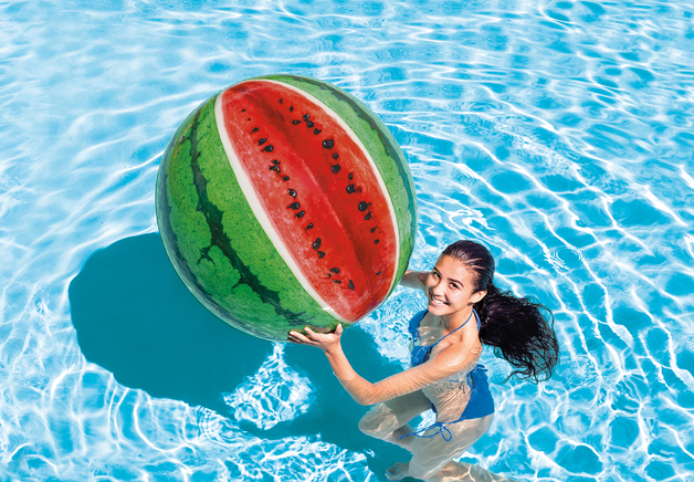"""Intex: Watermelon - 42"""" Beach Ball"""