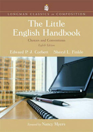 The Little English Handbook: Choices and Conventions by Edward P.J. Corbett image