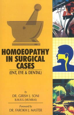 Homoeopathy in Surgical Cases by Girish J. Soni image