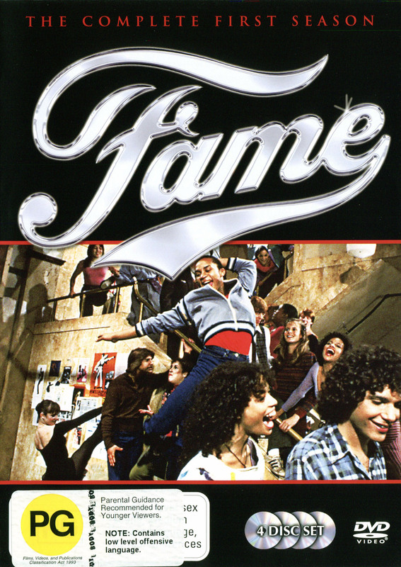 Fame - Complete Season 1 (4 Disc Box Set) on DVD