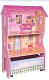 Wooden Dolls House – 2 Shelf