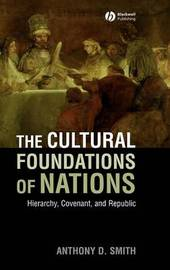 The Cultural Foundations of Nations by Anthony D Smith image