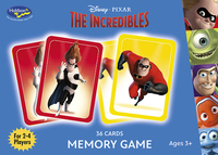 Holdson: Disney Pixar Memory Game - The Incredibles