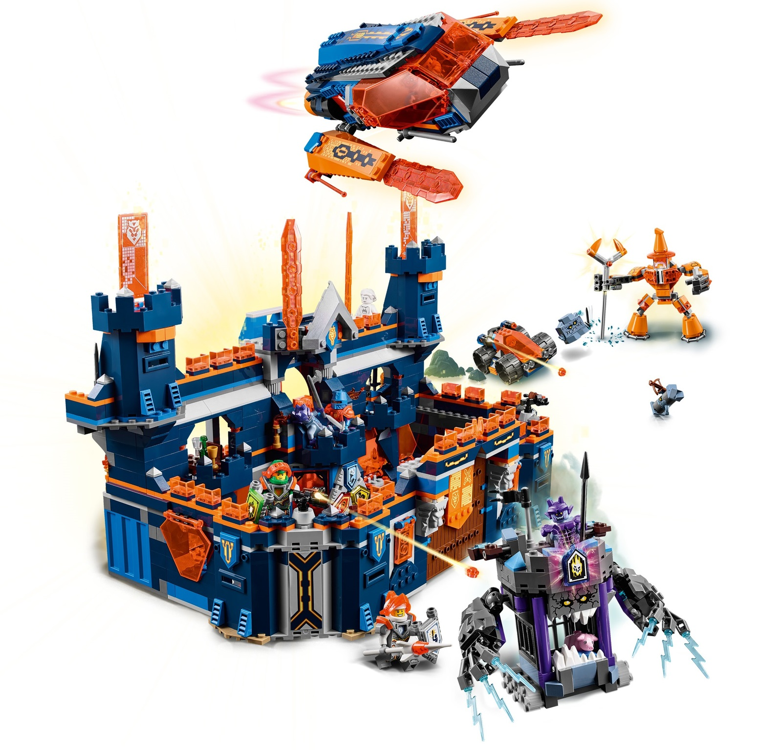 Lego Nexo Knights Knighton Castle 70357 Toy At