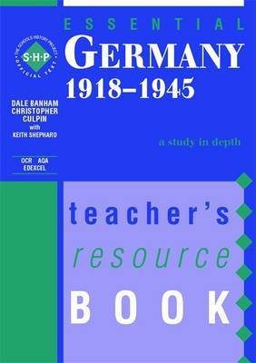 Essential Germany 1918-45 by Dale Banham image