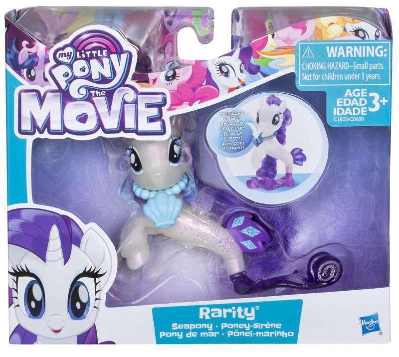My Little Pony: The Movie - Rarity Sea Fashion Doll image