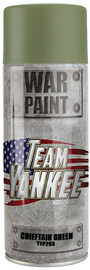 Flames of War: Team Yankee Paint Spray Can - Chieftain Green (400ml)