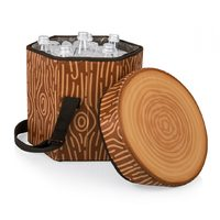 Bongo Cooler Tote/Seat - Tree Stump