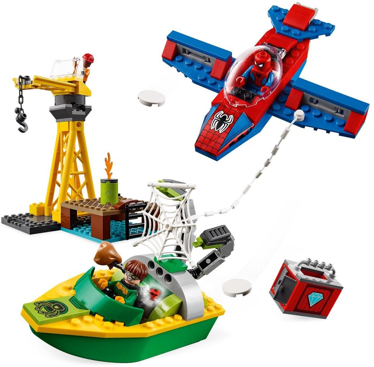 LEGO Super Heroes - Spider-Man: Doc Ock Diamond Heist (76134) image