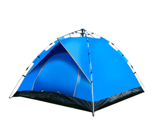 1-2 Person Instant Dome Camping Tent (Blue) Waterproof/UV Protection UPF 50+