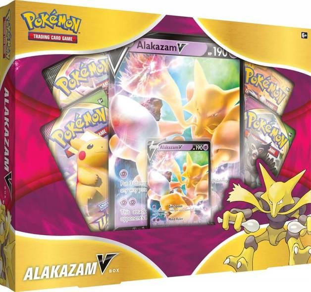 Pokemon TCG: Alakazam V Box
