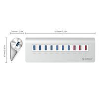 ORICO 7-Port USB 3.2 Gen1 USB Hub with 3 Charging Ports