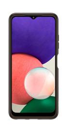 Samsung A22 LTE Soft Clear Cover Case - Black