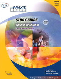 Special Education: Core Knowledge Study Guide by Educational Testing Service image