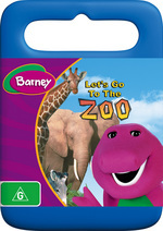 Barney: Let's Go To The Zoo on DVD