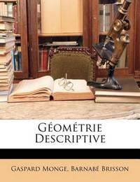 Gomtrie Descriptive by Gaspard Monge