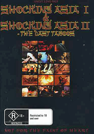 Shocking Asia 1 and 2 (2 Disc Set) on DVD