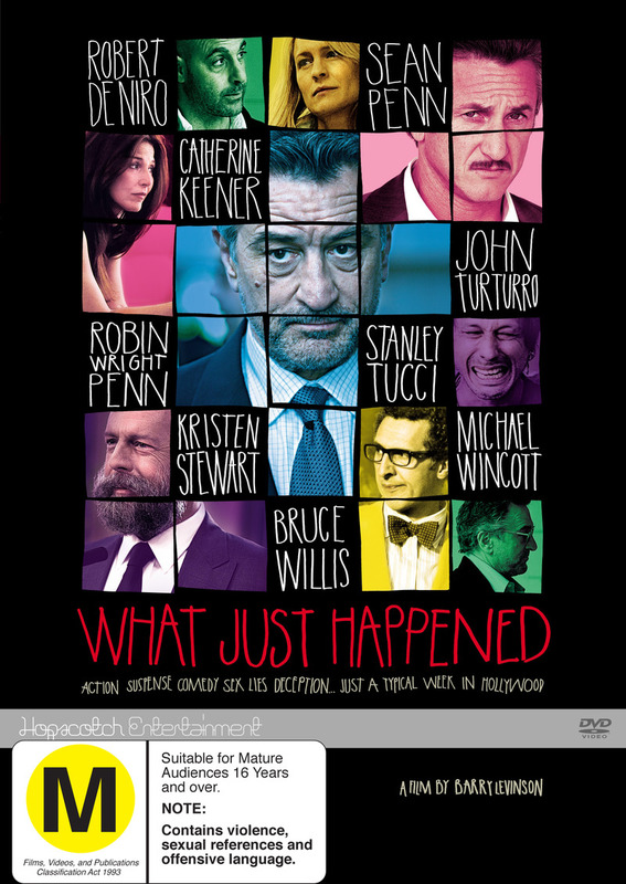 What Just Happened on DVD