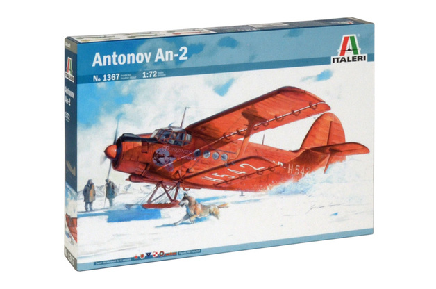 Italeri Antonov AN-2 1:72 Scale Model Kit